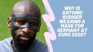 Why is Antonio Rudiger wearing…