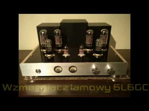 Wzmacniacz lampowy 6L6GC (amplifiers vacuum tube) DIY