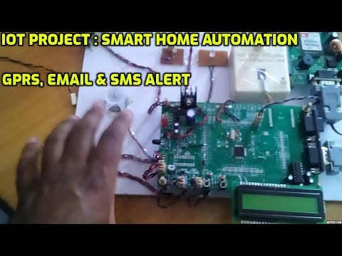 Home automation using sms project