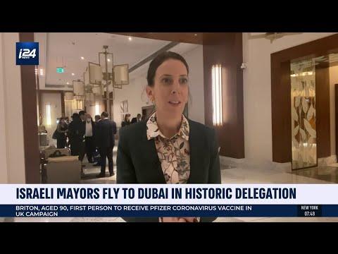 Israeli Mayors Visit Dubai In Historic Delegation