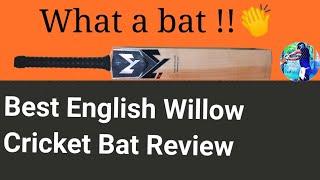 English Willow Leather Ball Bat | Machine