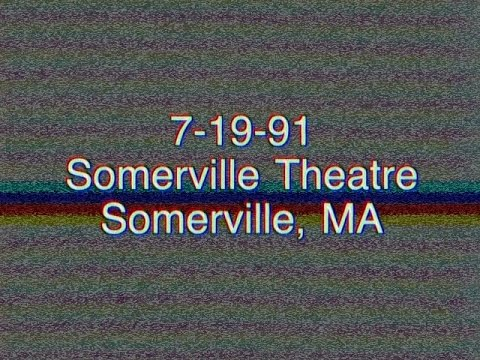 Phish (7/19/91) Somerville Theater, Somerville, MA w/ Giant