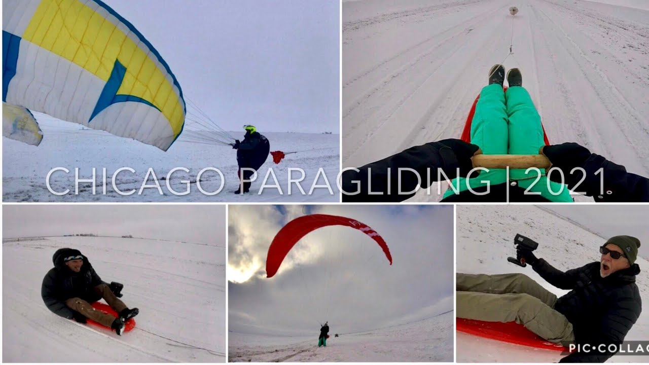 Winter Wonderland 2021 | Chicago Paragliding