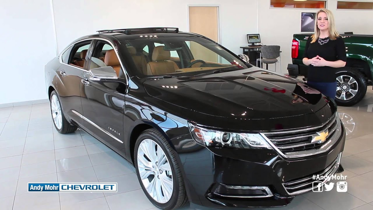 2016 chevrolet impala walkaround andy mohr chevy indianapolis indiana youtube