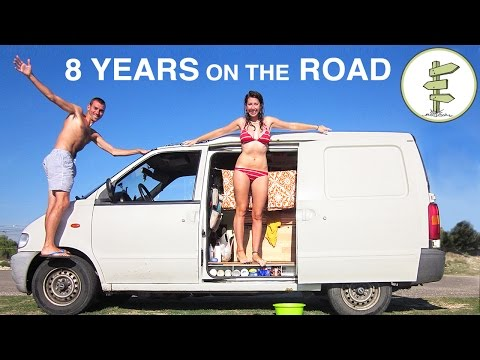Couple Spends 8 Years Living the Van Life & Backpacking Arou