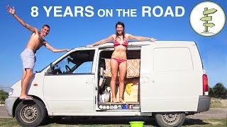 One of Exploring Alternatives's most viewed videos: Couple Spends 8 Years Living the Van Life & Backpacking Around the World