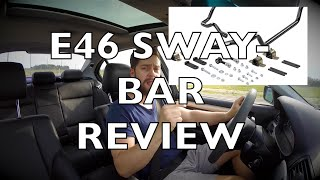 E46 BMW Hotchkis Sway Bars: On Track and Road Review