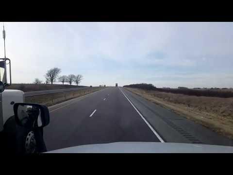 BigRigTravels LIVE! Brooklyn, Iowa to York, Nebraska Interstate 80 West-Dec. 11, 2018