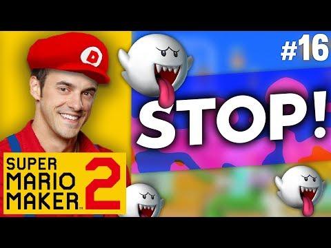 Super Mario Maker  - STOP, GHOSTS! - #16
