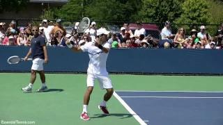 Novak Djokovic Forehand in Slow Motion HD