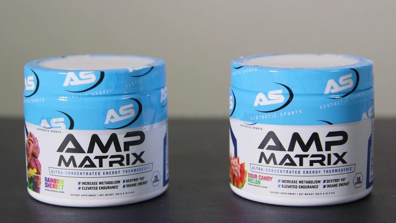 amp matrix fat burner