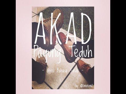 Akad - Payung Teduh (Versi Bahasa Sunda - Cover by Tiara)