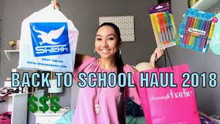 BACK TO SCHOOL HAUL 2018 | Supplies, Clothing & MORE!