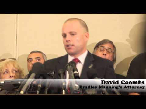 """David Coombs: """"Manning Did Not Receive a Fair Trial"""""""