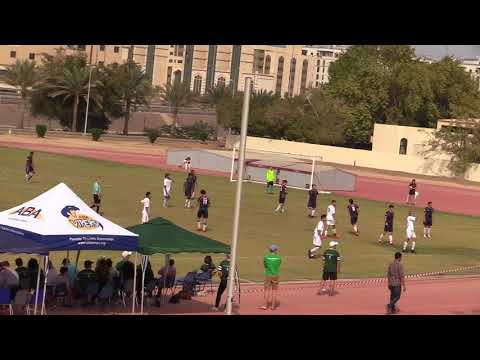 Varsity Soccer MESAC 2018 ACS vs DAA Second Half Part 1
