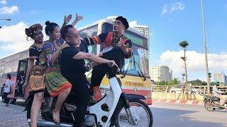 Anh Tọc Đưa Vợ Xuống Phố Trần Duy Hưng giải Ngố Full HD   Phim Hài Mới Nhất