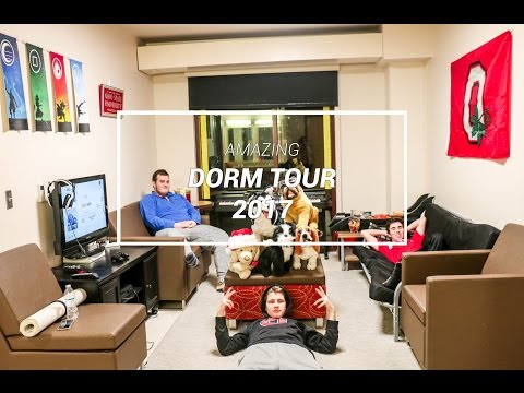 AMAZING College Dorm Tour! + My College Life Essentials (Ohio State University - 2017)