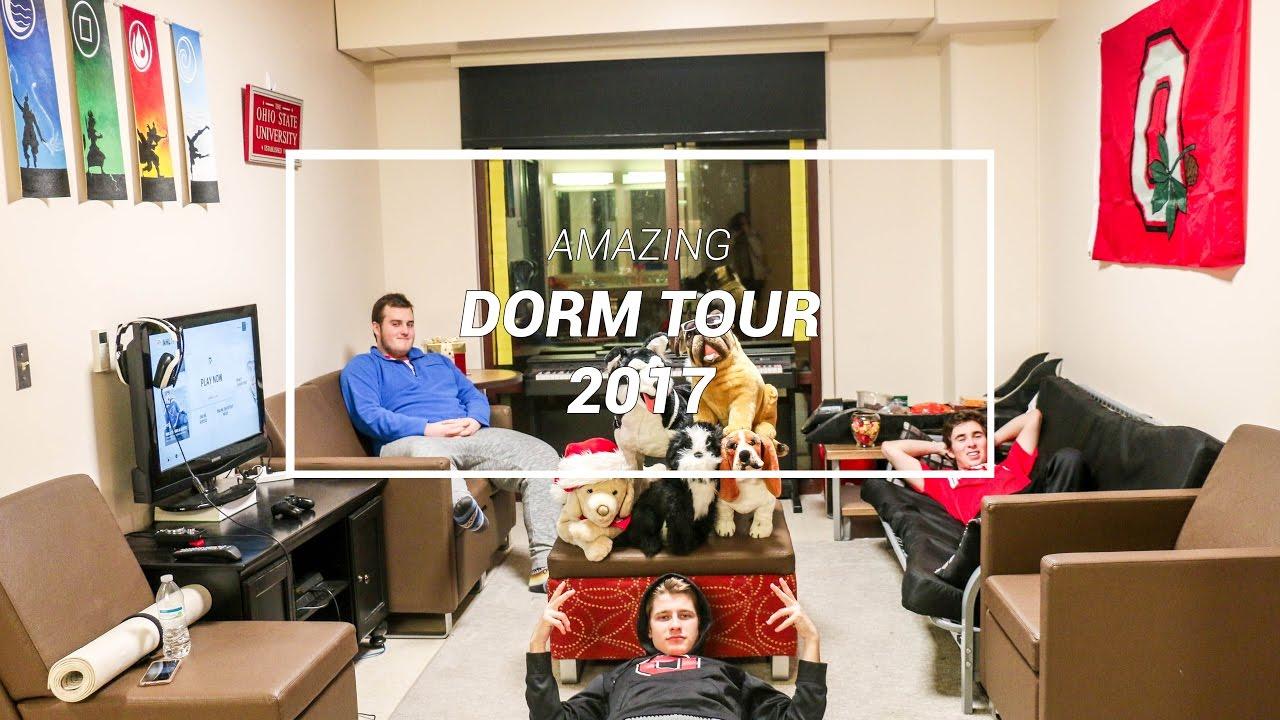 Amazing College Dorm Tour Ohio State University My College Life Essentials Youtube