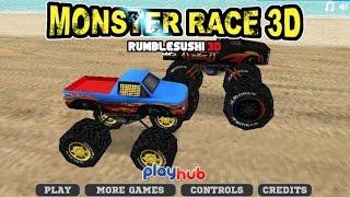 Monster Truck Race 3d Car Racing Games - games for kids