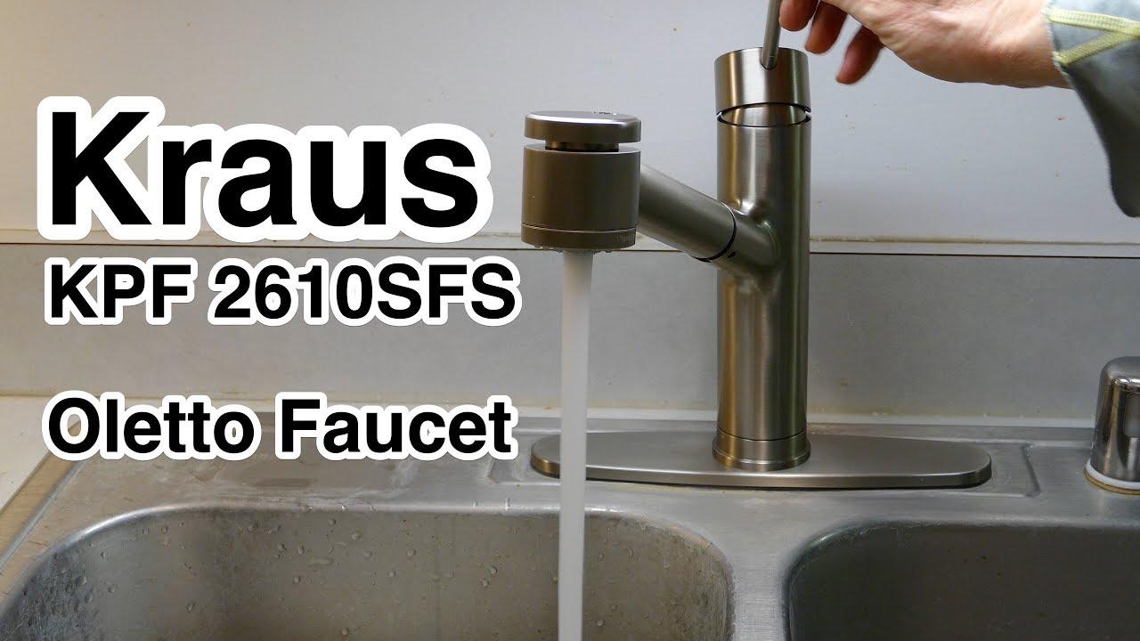 kraus kpf 2610sfs oletto kitchen faucet 10 5 inch