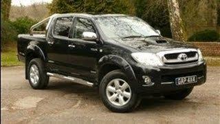 2009 Black Toyota Hilux Invincible