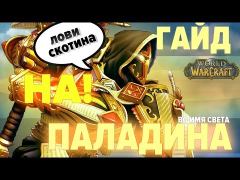 Гайд на Ретри и Реконинг Паладина (PvP Paladin Retribution / Reckoning) | World of Warcraft: Classic