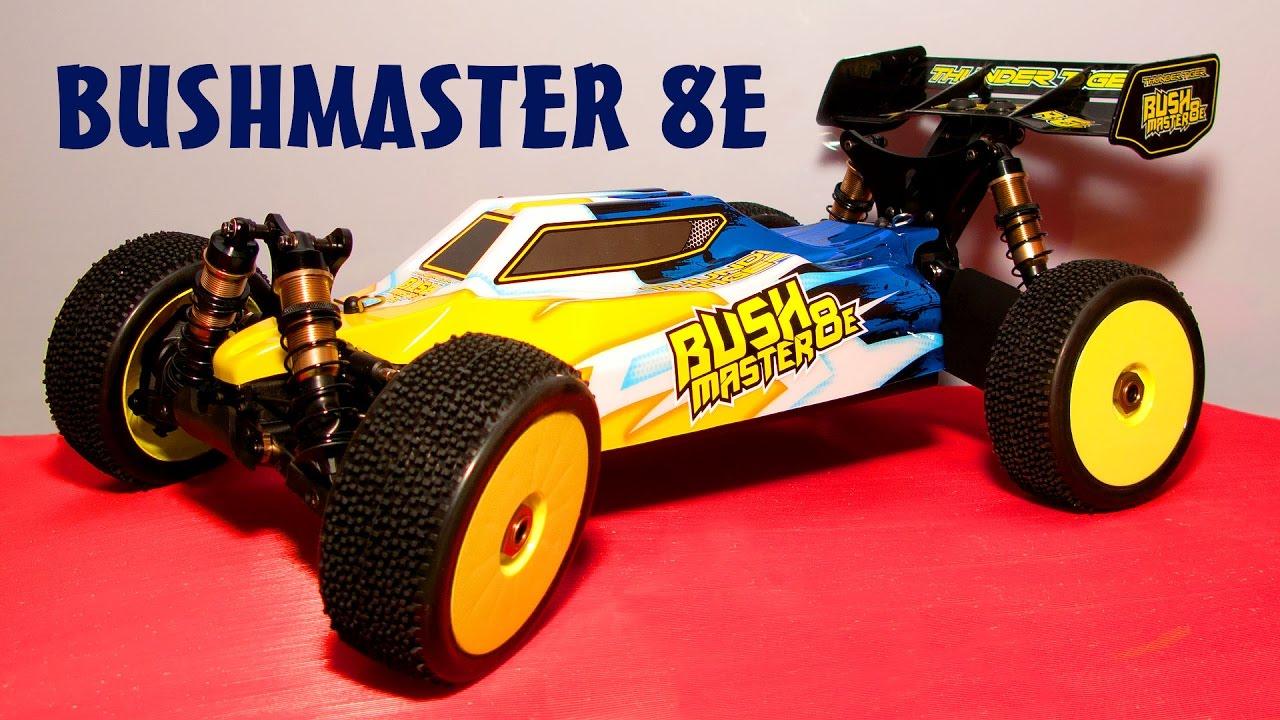 Радиоуправляемая багги Thunder Tiger BUSHMASTER 8E 4WD ...
