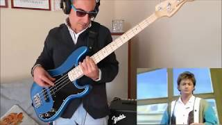 YES Owner Of A Lonely Heart (bass cover) - Fender American Performer Precision bass