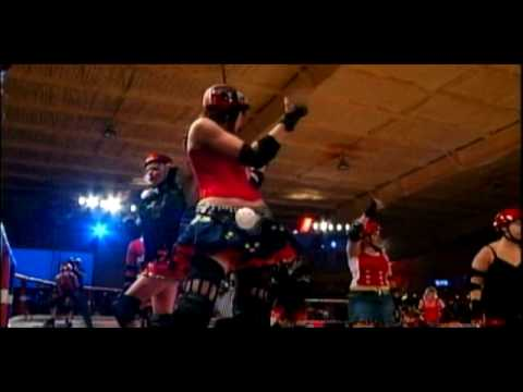 Texas Roller Derby Girls  BOOM