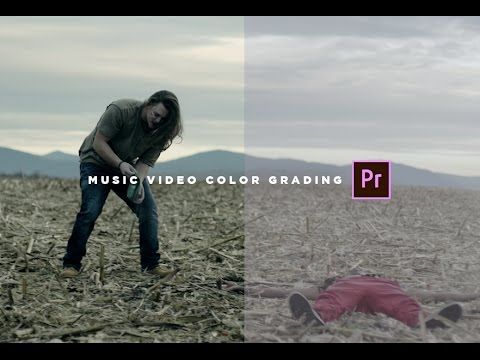 Music Video Color Grading + FREE LUT (Adobe Premiere)