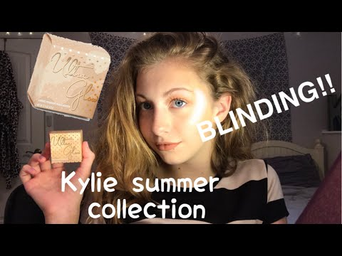 Kylie Ultra Glow Vacation Edition Highlighter Review