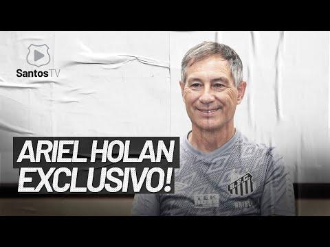 ENTREVISTA EXCLUSIVA DE ARIEL HOLAN NA SANTOS TV!