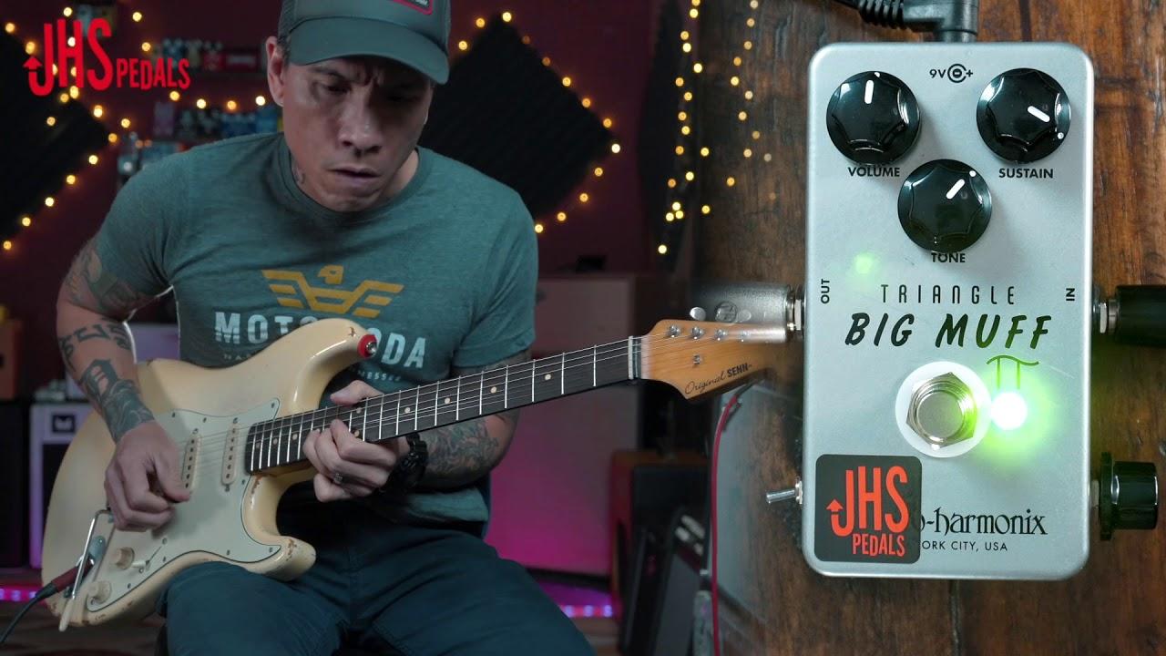 JHS EHX Nano Muff MoonPi Moon Pi Pie Mod Fuzz Guitar Effects Pedal Stompbox