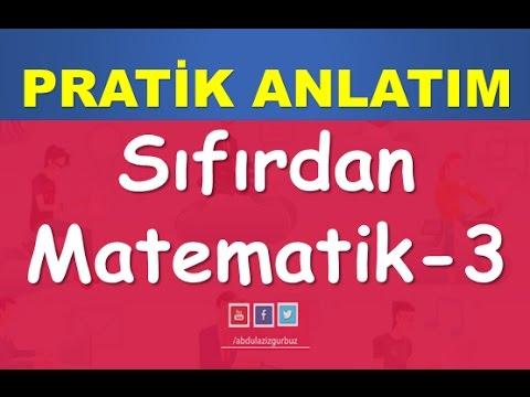 04) SIFIRDAN MATEMATİK | YKS(TYT) | KPSS | DGS | ALES | 8.SINIF | Abdül Aziz Gürbüz