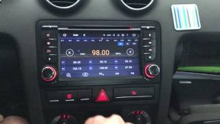AX-7683A Equipo multimedia ANDROID para Audi A3