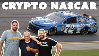 Nascar with Crypto Crow and Dragonchain #nascrypto