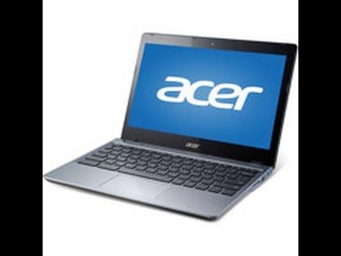 "Acer Granite Gray 11.6"" C720-2827 Chromebook PC with Intel Celeron 2955U"