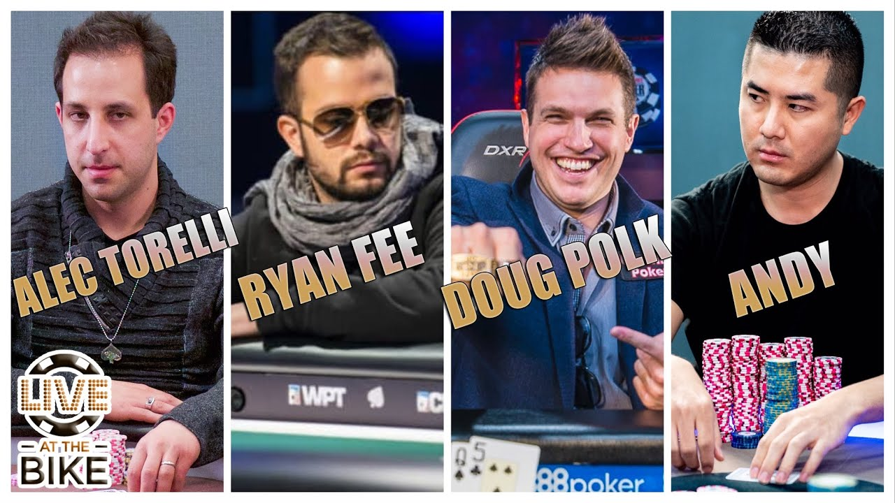 $25/50 NLH with Doug Polk, Ryan Fee, Alec Torelli, Chief Keefe and more♠ Live at the Bike!