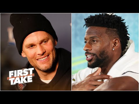Emmanuel Sanders reacts to Tom Brady to the Buccaneers | First Take