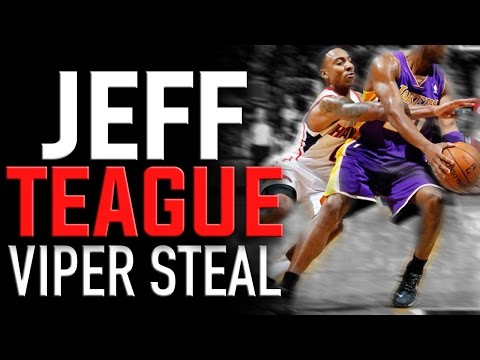 Jeff Teague Viper Steal Technique: Basketball Moves