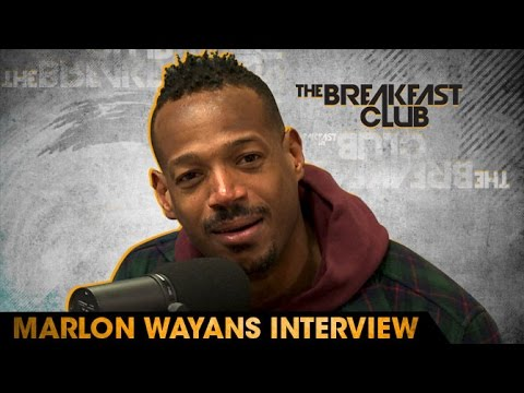 Marlon Wayans Interview at The Breakfast Club (05/18/2016)