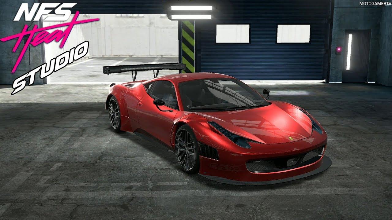 Nfs Heat Studio Ferrari Laferrari Customization Youtube