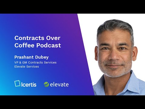 Contracts over Coffee with Elevate's Prashant Dubey