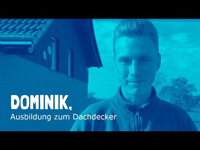 Ausbildung zum Dachdecker / zur Dachdeckerin bei Wolf Bedachungen in Dortmund
