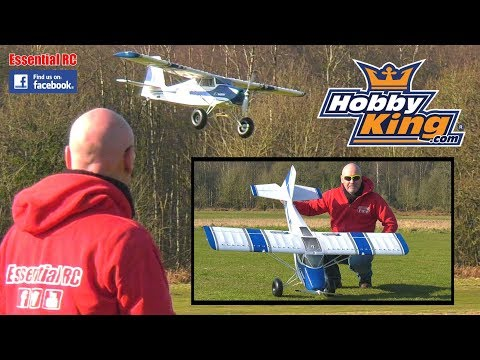 AVIOS GRAND TUNDRA RC BUSH PLANE (1.7m wingspan, flaps and light system): ESSENTIAL RC FLIGHT TEST