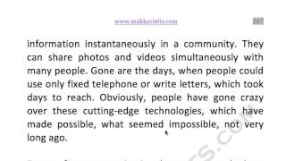 266 modern communication technology has ...