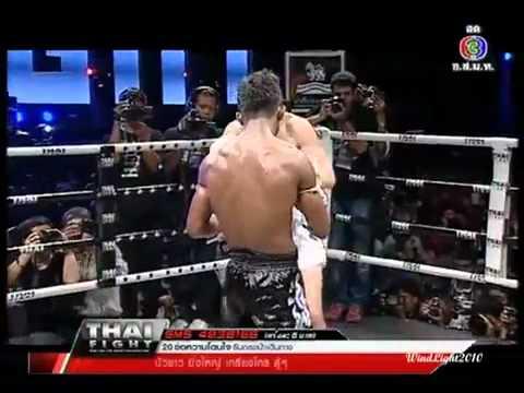 บัวขาวน็อครัสเซีย Thai Fight 2012