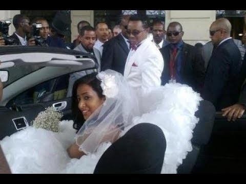 Teddy Afro Wedding Photos with wife Amleset Muchie Trending Ethiopia Eritrea