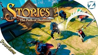 Stories: The Path of Destinies - Gameplay Preview (Demo)