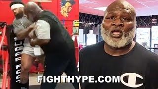 "JAMES TONEY SLAPS ""BOXING 101"" SENSE INTO JAMES WILSON; TEACHES SNEAKY ""LIGHTS OUT&qu"